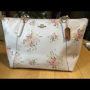 Coach Floral Bouquet Ava Tote NWT